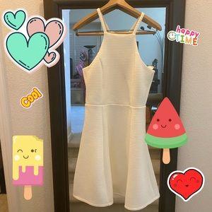 Francesca cream dress